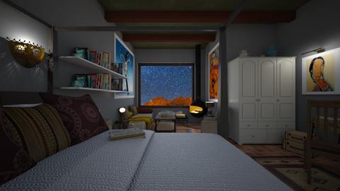 OKeefe Bedroom - by MoxieCreative
