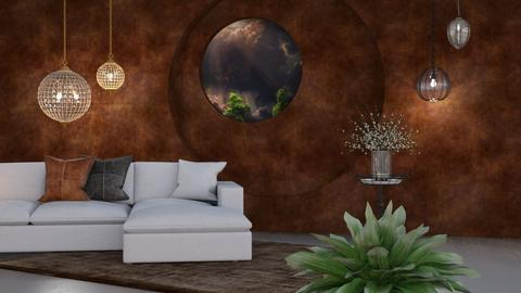 M_ Lamps and round table - Living room  - by milyca8