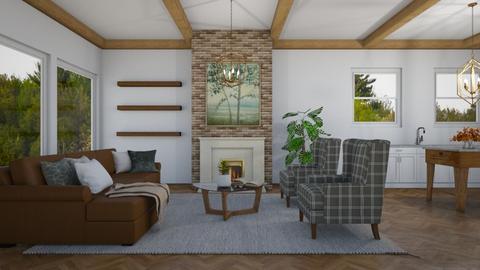 Farm - Country - Living room  - by ana pogorelec