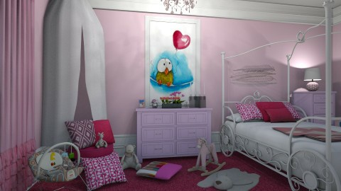 04092017 - Modern - Kids room  - by matina1976
