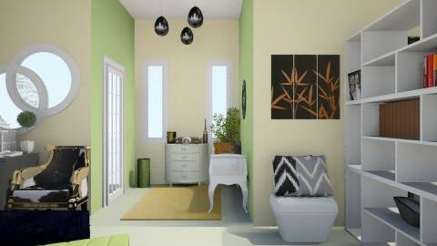 Lucky Charm_Part IIII - Minimal - Living room  - by Nurul Yunita Sari Ginting