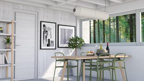 Minimalism - Minimal - Dining room  - by HenkRetro1960