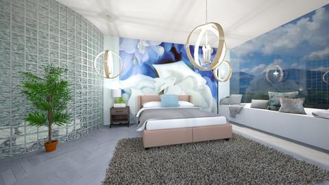 OKeeffe Inspired Bedroom - Bedroom - by Parkee24