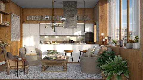 454 - Modern - Kitchen  - by Claudia Correia