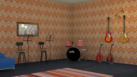Music room - by aesthathic_noor