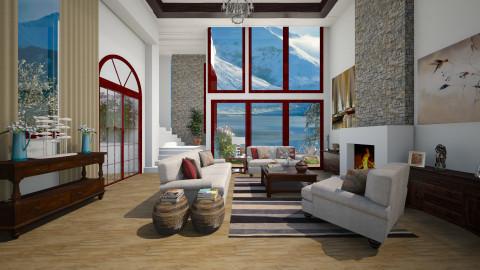 Inverno - Living room  - by Roberta Coelho
