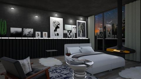 M4 - Bedroom - by yonvie