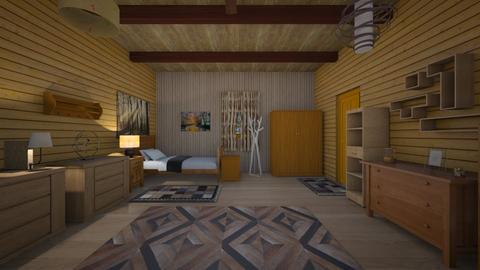 Oak Space - Bedroom  - by mspence03