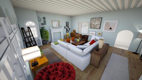 7736 LIVING ROOM - Modern - Living room  - by KCarrington27