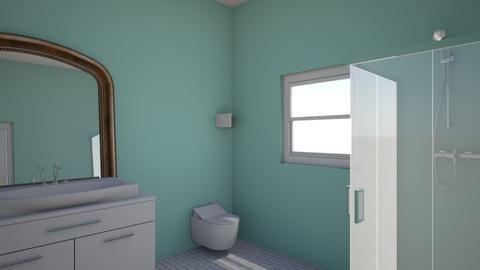 art bathroom design - Bathroom  - by ErinHunterRules