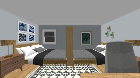 Boys Room 2 - Bedroom  - by amydelisle