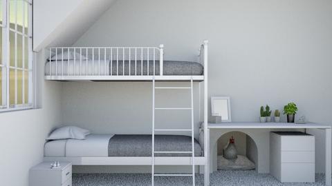 Isla and Liam dorm - Modern - by matildabeast