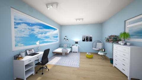 bedroom - by fleurhvl