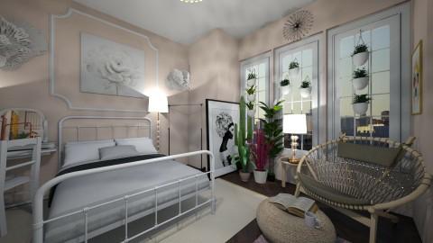 Bedroom - by alyssaamegann