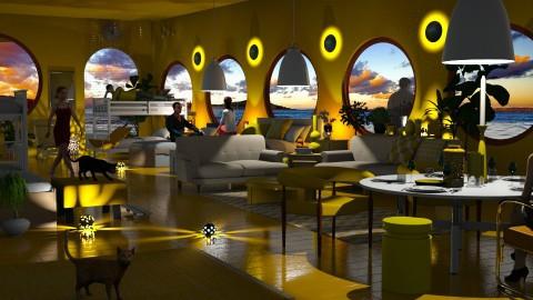 Jaya Hostel Submarine - Eclectic - Living room  - by anchajaya
