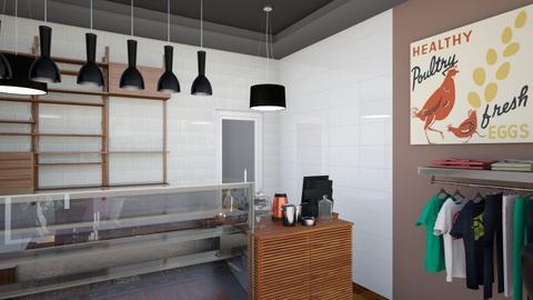 Gallery Cafe Bar View 4 - Modern - by Ejad Shukri