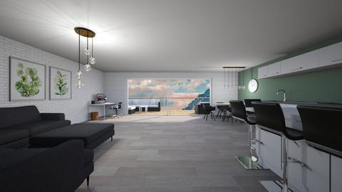 Big apartment - Living room  - by Noa Jones