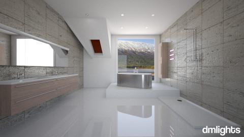 Aquazuro Bathroom - Bathroom  - by DMLights-user-982019