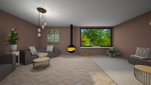 Nature living - Living room  - by Noa Jones