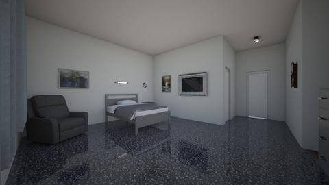 Nursing Home Room  - Bedroom  - by ashleycdean