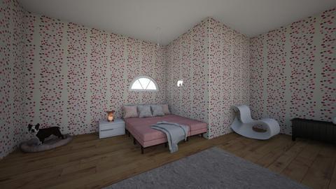 Dusk Pink - Modern - Bedroom  - by matildabeast