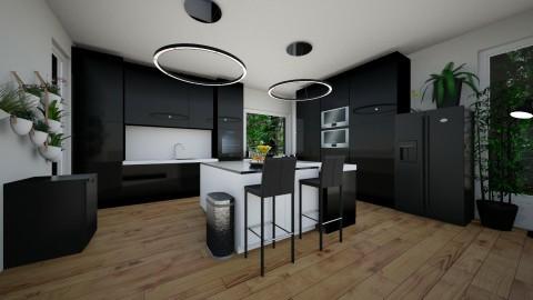 Kitchen - by Katiewaldo7