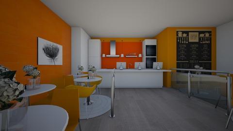 The Messy Kitchen Diner - Kitchen  - by jordynclark
