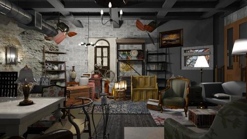 Basement Vintage Shop - Vintage - by Sue Bonstra