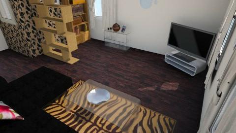 good home - Retro - Living room  - by Niniko