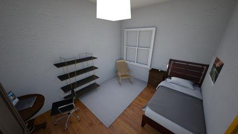 Mi habitacion 1 - Bedroom  - by danielreche