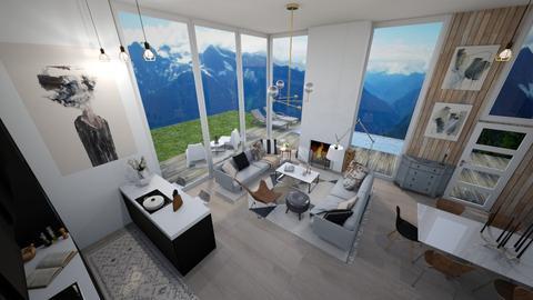 northern breeze - Modern - Living room - by Georgina Holly
