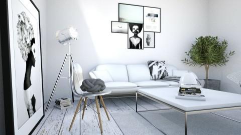 BW - Modern - Living room  - by Artinjan Artinovic