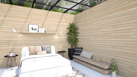 spring bedroom - Bedroom  - by Thepanneledroom