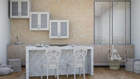 Nats luxury kitchen - Modern - Kitchen  - by matildabeast