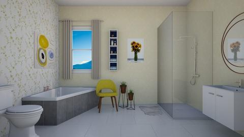 Yellow Bathroom - Bathroom - by llama18