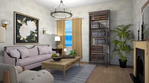 den - Living room  - by steker2344