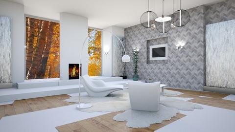 modern living  - Modern - Living room  - by martinini