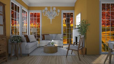 In the Valley - Living room - by Emily Bennett