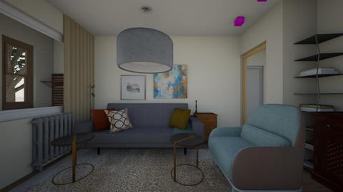 08Apr - Living room  - by Julia Nick