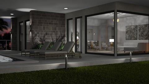Outside Looking In 4 - Living room  - by GraceKathryn