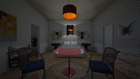 Hotel Bedroom - Bedroom  - by dylan64553