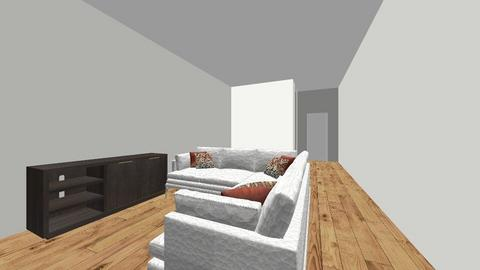 Hernandez family - Modern - Living room  - by LaurenDollyhite