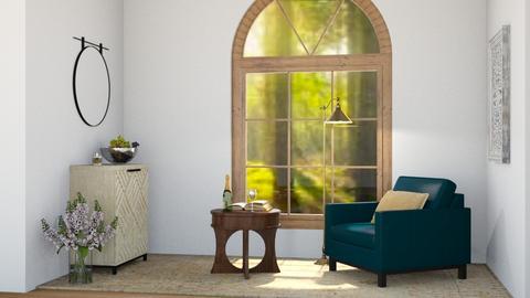 Chair and glass - by Sadieeeeeeee