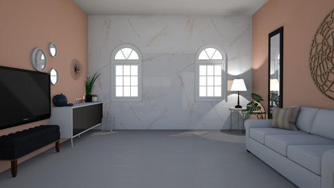 first design - Living room - by hagaribrahim