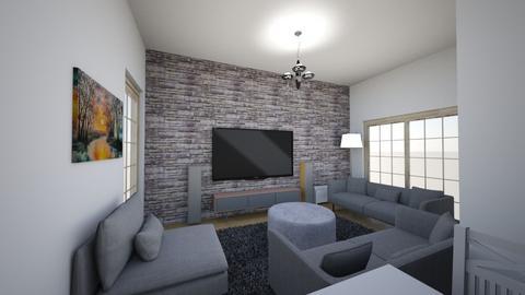 salon son hali 2 - Modern - Living room  - by filozof