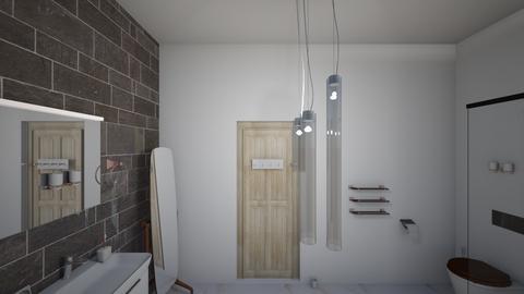 Bathroom - Modern - Bathroom - by Drew_Petiot