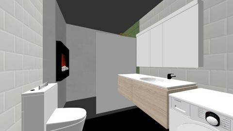 Bathroom1 - Modern - Bathroom  - by roomx
