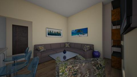 project2a - Modern - Living room  - by digitalblue