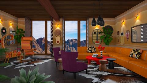Modern Africa - Eclectic - Living room  - by 3rdfloor