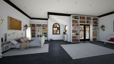 caffreys bedroom - Classic - Bedroom  - by Brubs Schmitt